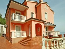 OPATIJA, prekrasna nova vila s panoramskim pogledom na more