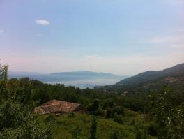IČIĆI, zemljište s panoramskim pogledom na more