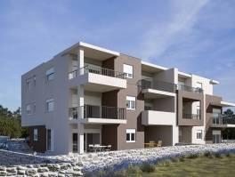 Žaborić, novi apartmani 80 od plaže