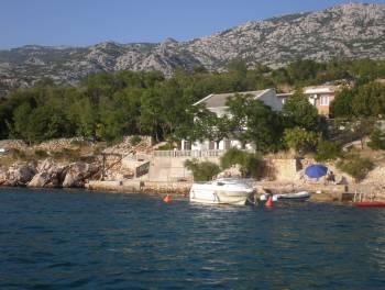 Senj – okolica, 120m2, kuća na samoj obali mora