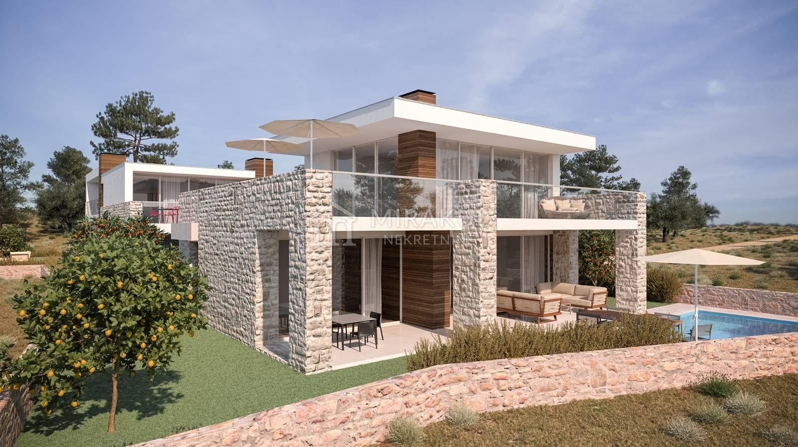 land mit einem projekt für mehr moderne villen auf murteru, grundstück - Moderne Villen