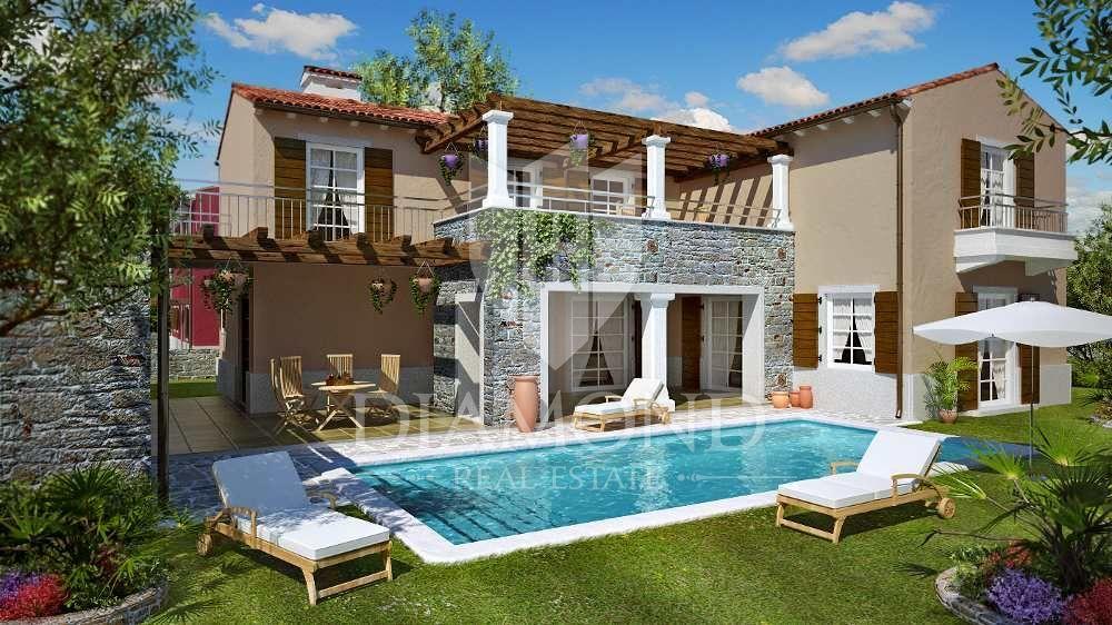 Casa con piscina 6 camere da letto, Casa