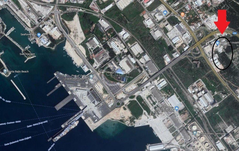 Zadar, Gaženica, građevinsko zemljište 14165 m2