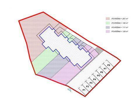 Viškovo, kuća u nizu, 3S+DB, 82 m2, s okućnicom