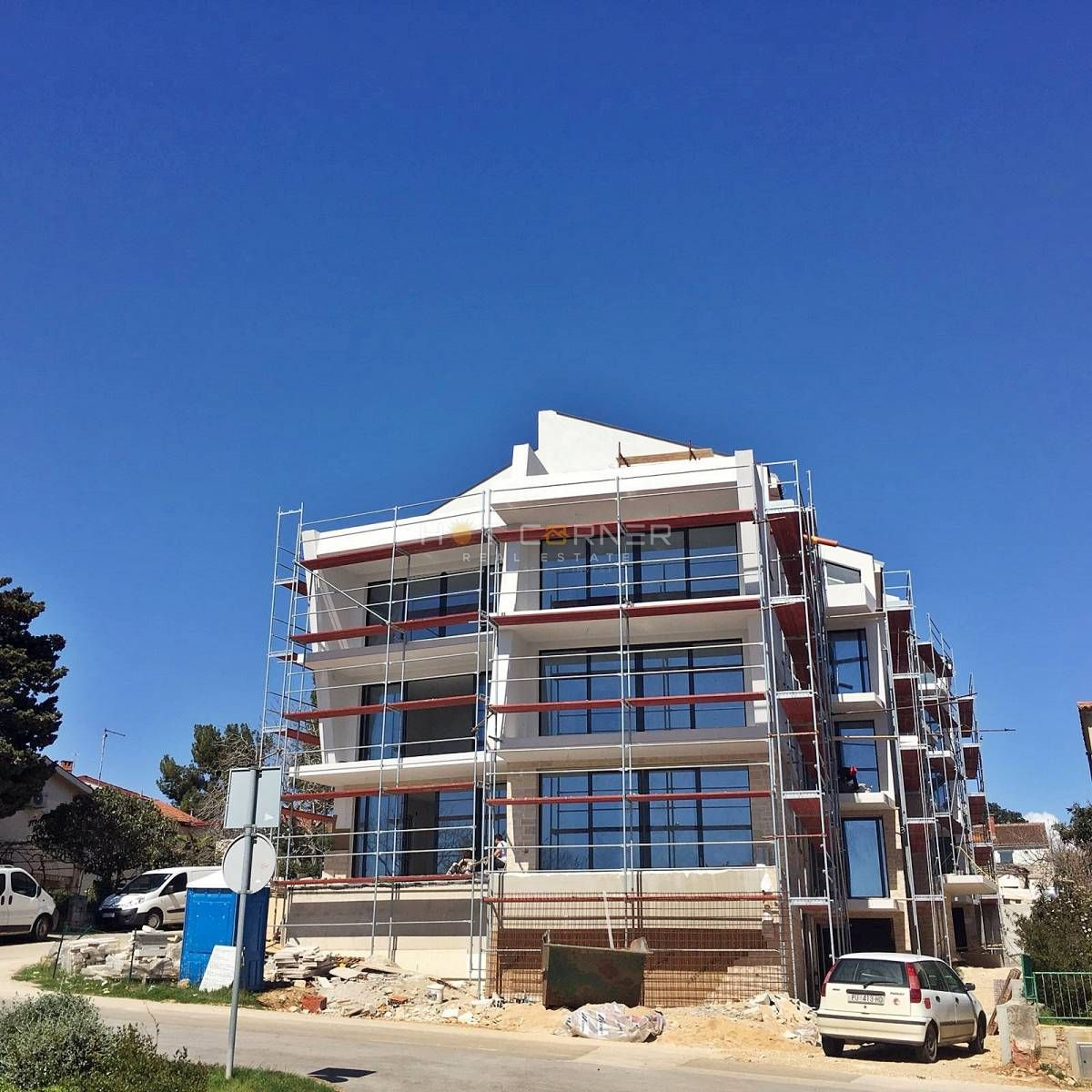Banjole, new luxury apartment, sea view, 80m from beach, 2 bedrooms