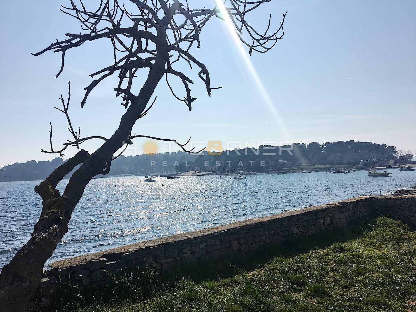 Stan, Pula, Stoja, Zelenika, top lokacija, u izgradnji, 2 SS, 150m od plaže, pogled na more