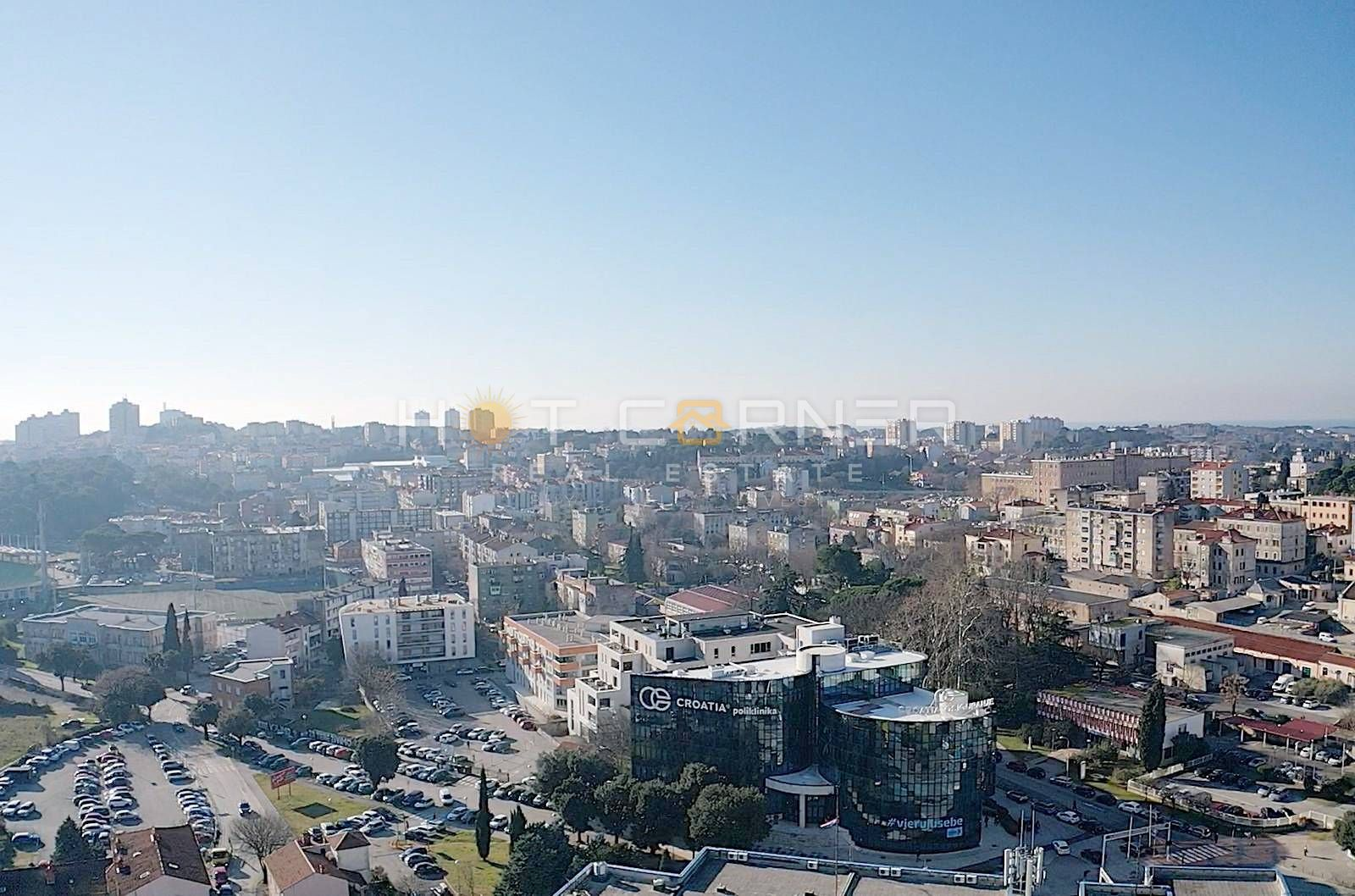 Pula, eine Chance für einen großartigen Neubau im Zentrum