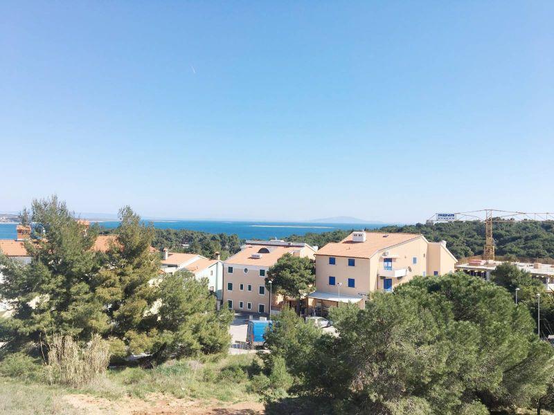 Premantura, prekrasna polovica duplexa, luksuzno, pogled na more, bazen