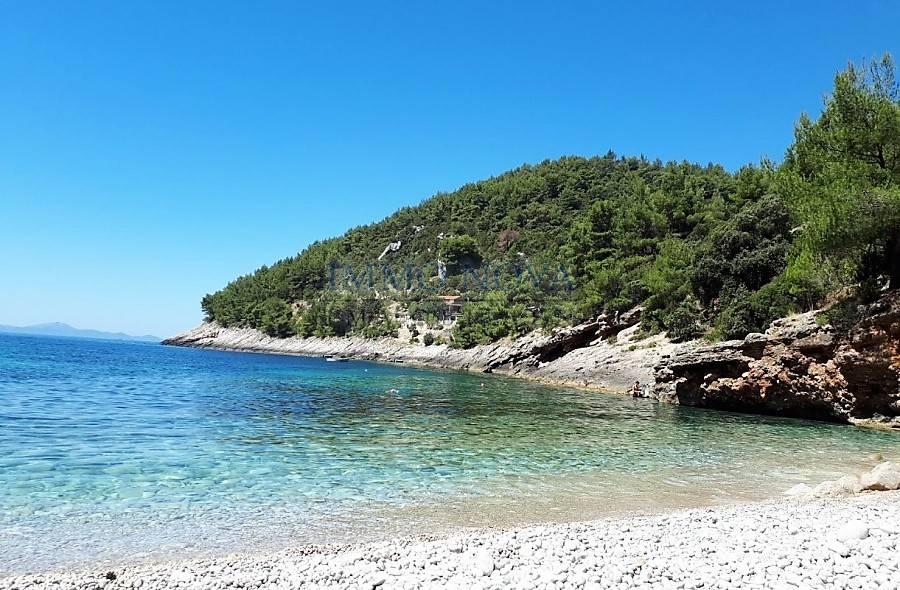 Građevna parcela s dozvolom za gradnju, Korčula