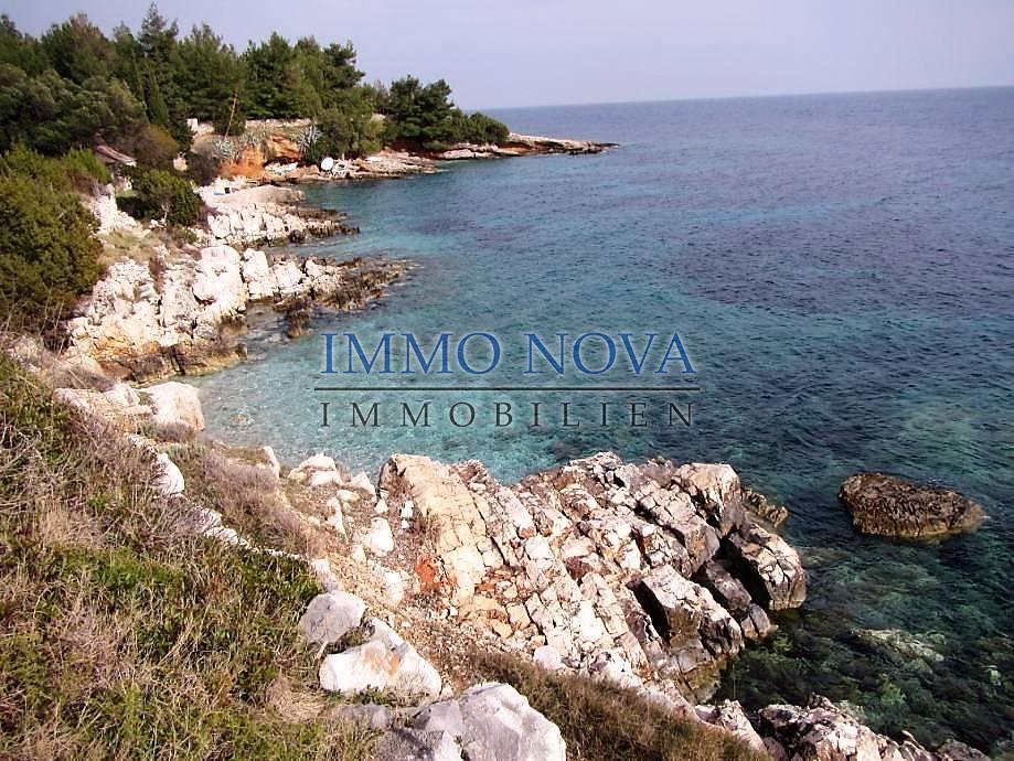 Zemljište 1. red do mora, južna strana - Immo-Nova