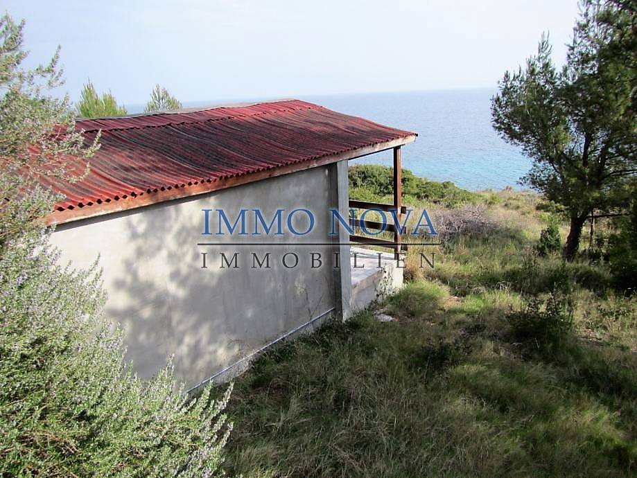 Kućica na parceli 1. red do mora, Hvar, južna strana - Immo-Nova