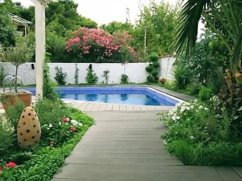 Lijepa villa s bazenom na Čiovu, 1. red do mora, Okrug Gornji