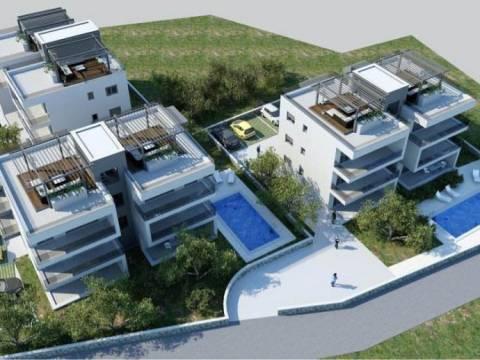 Apartmani na Čiovu u novogradnji, atraktivno