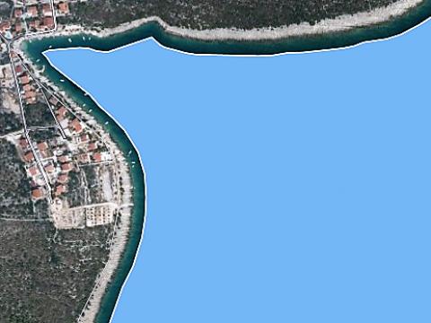 Građevinsko zemljište s panoramskim pogledom, blizina mora, Ražanj, Rogoznica
