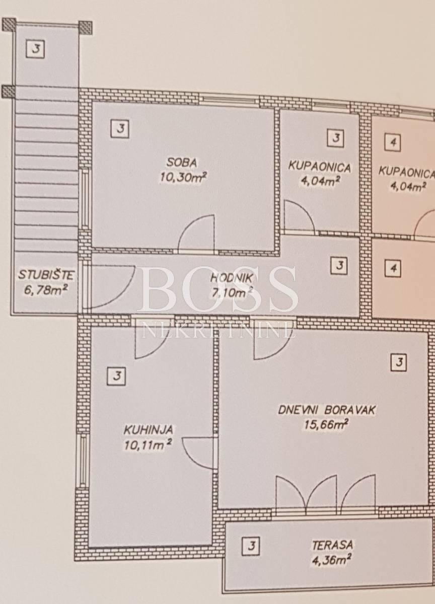 Ičići, 58.35m2, 1S+DB, 147.000 eur/kn