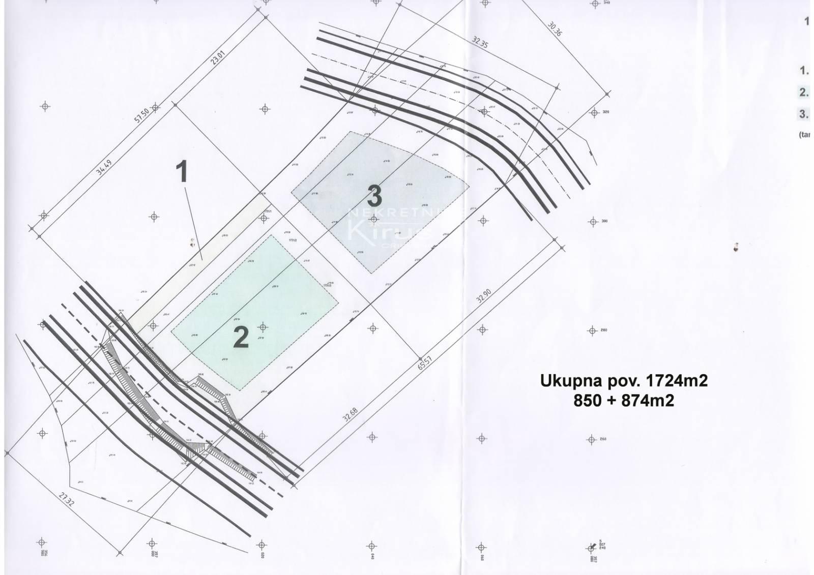 Građevinske parcele 100_€/m2