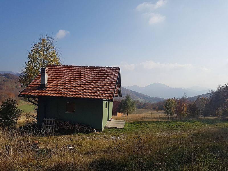 Gorski kotar, Stari Laz, gospodarski objekat