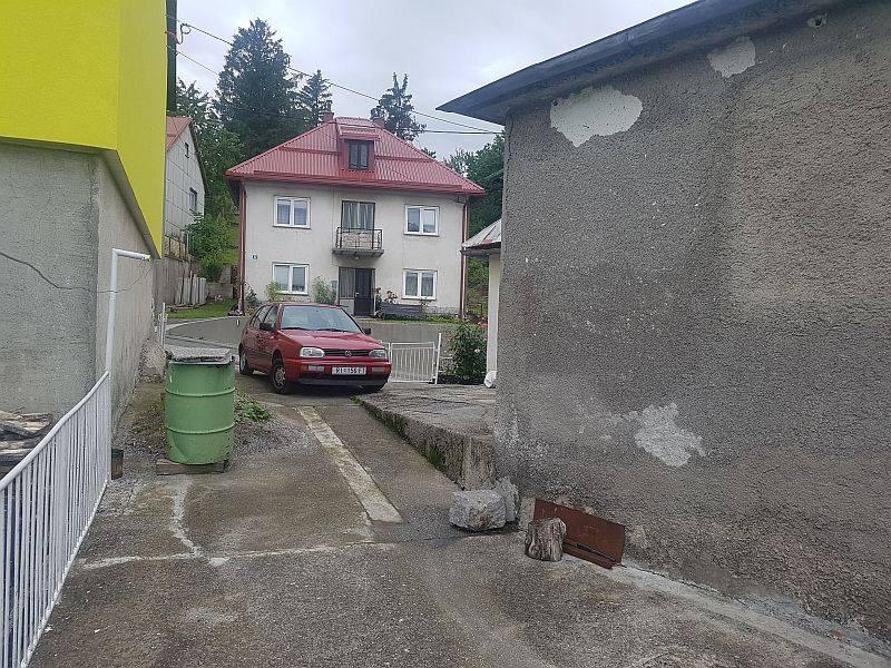 Gorski kotar, Fužine, kuća u centru mjesta