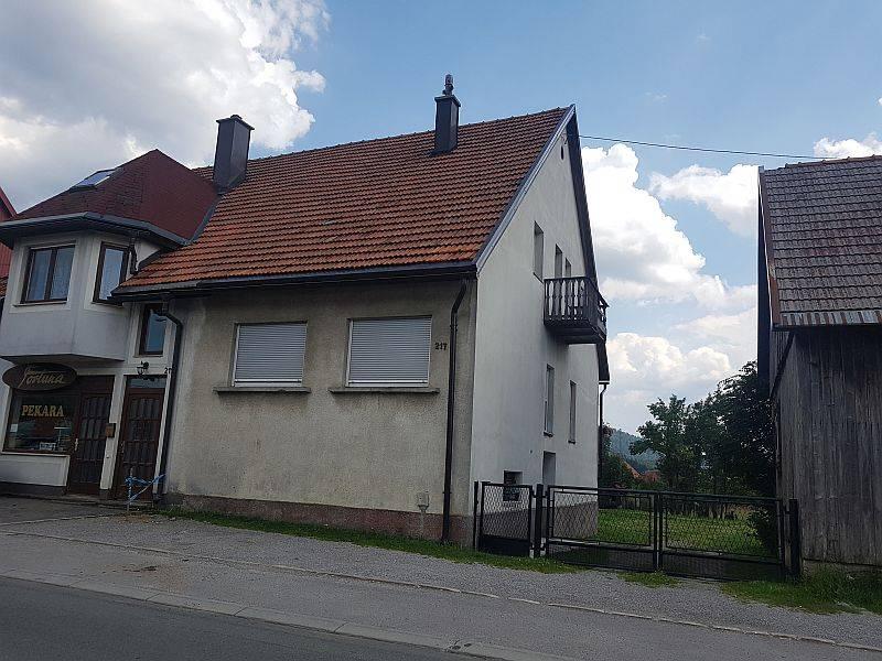 Gorski kotar, kuća Ravna Gora