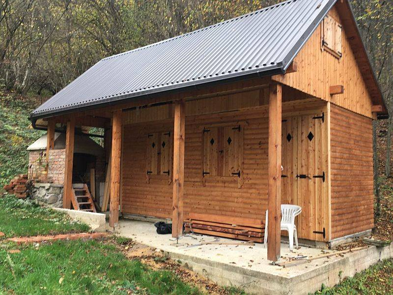 Hütte Blaževci, Vrbovsko, 28m2