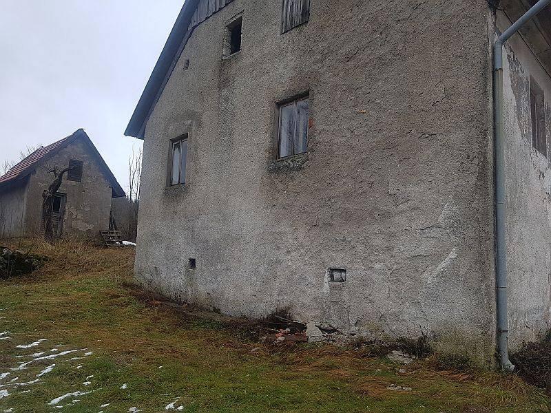 Gorski kotar, Stari Laz kuća
