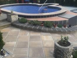 Gorski kotar, vikend kuća sa bazenom