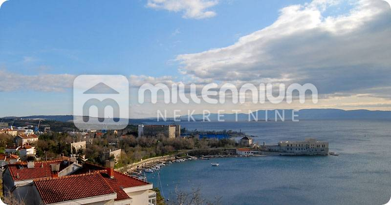 Kraljevica, građevinsko zemljište od 1094m2 s pogledom na more