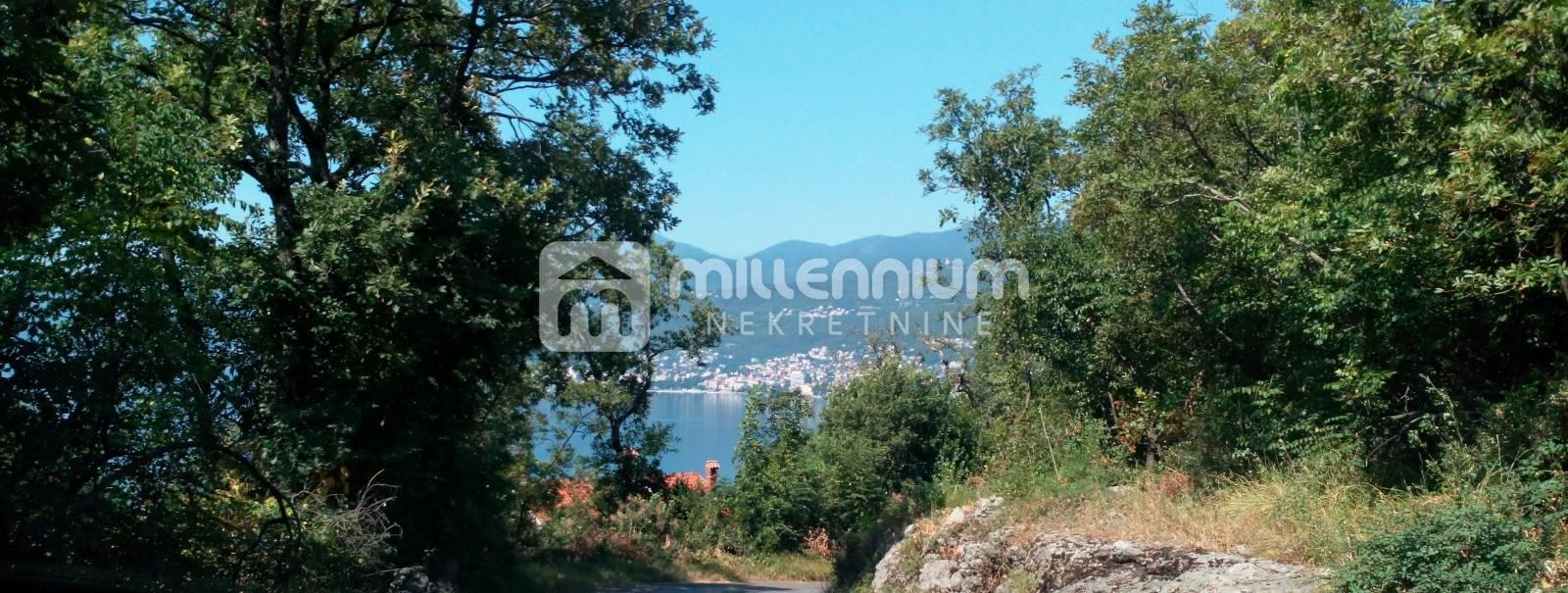 Rijeka, Bivio, 3016m2, teren s pogledom na more u atraktivnoj zoni