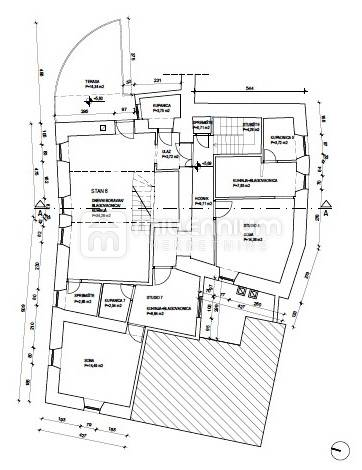 Otok Cres, Grad Cres, kuća s restoranom, apartmanima i stanom