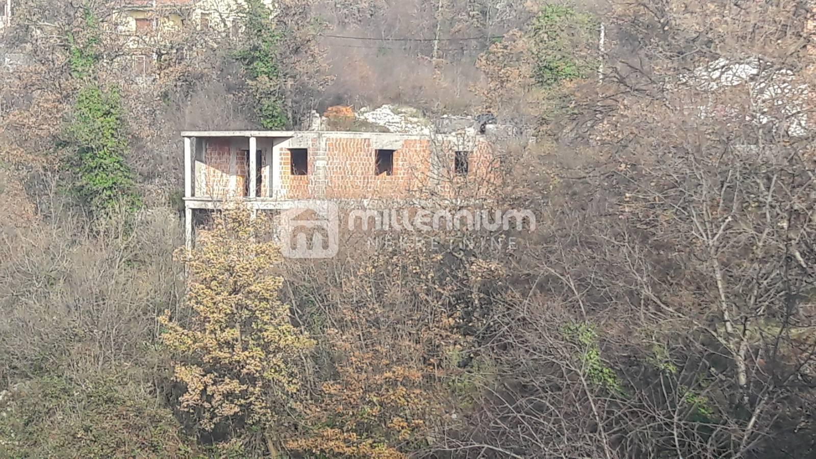 Rijeka, Srdoči, započeta gradnja kuće