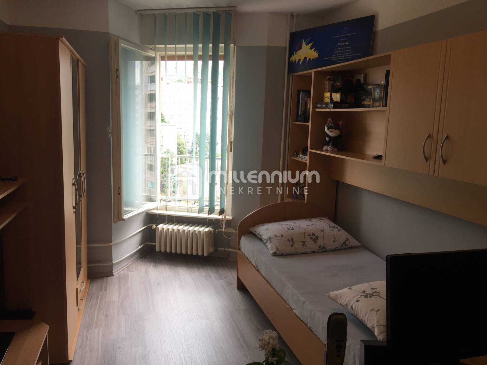 Rijeka, Podmurvice, 2-sobni stan s db i balkonom