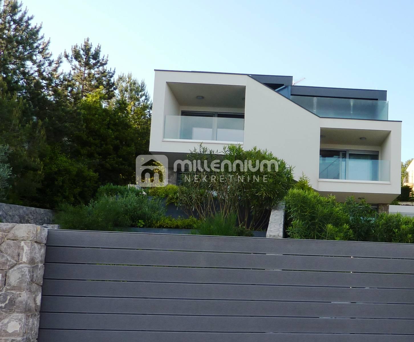 Otok Krk, Njivice, moderan dizajn urbane vile na plaži