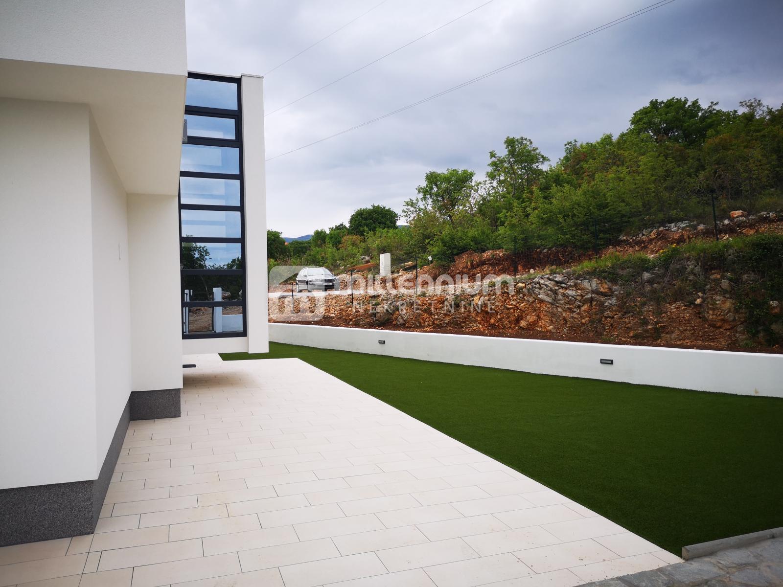 Crikvenica, novogradnja, moderna vila s bazenom