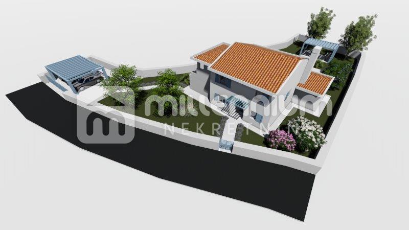 Istra, Svetvinčenat, moderna vila s bazenom