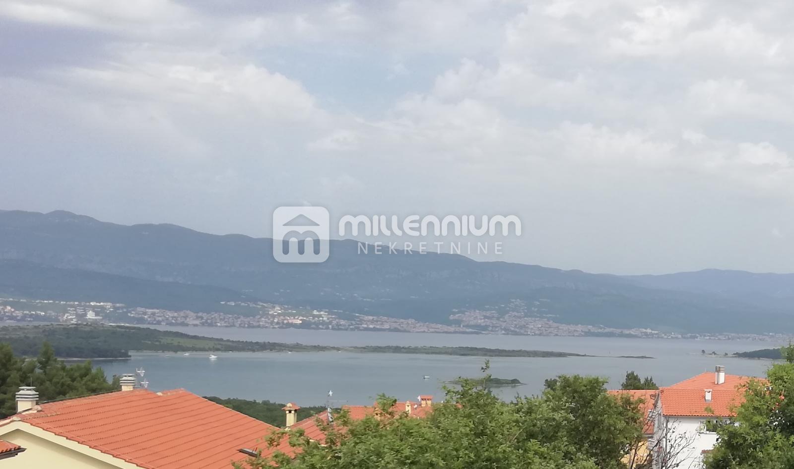 Otok Krk, Čižići, 100m2, 2-sobni stan s db