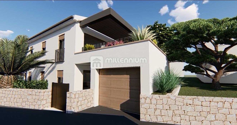 Rijeka, Trsat, novogradnja, 1s+db, terasa i garaža