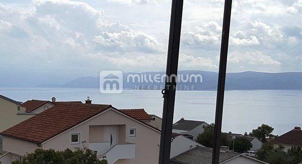 Crikvenica, 1s+db, balkon, pogled