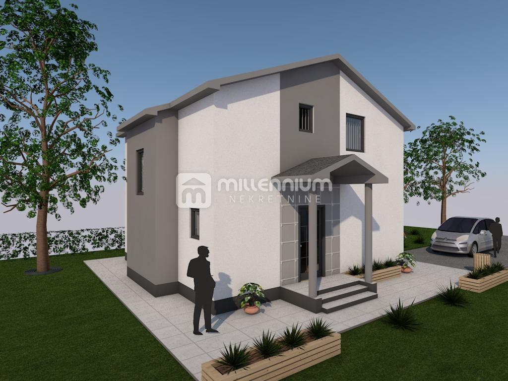 Dražice, započeta gradnja samostojeće kuće
