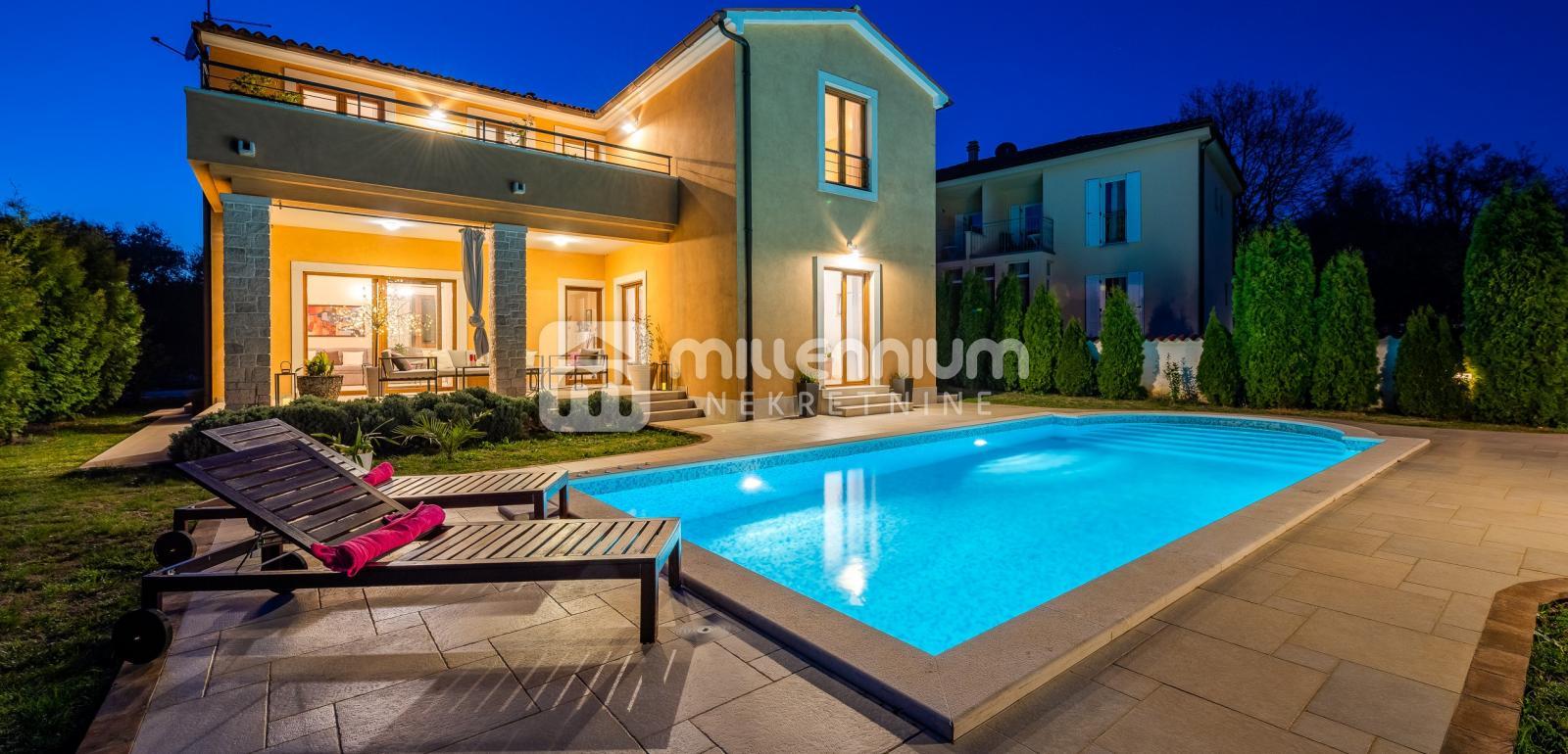 Istra, okolica Marčane, prekrasna vila s bazenom