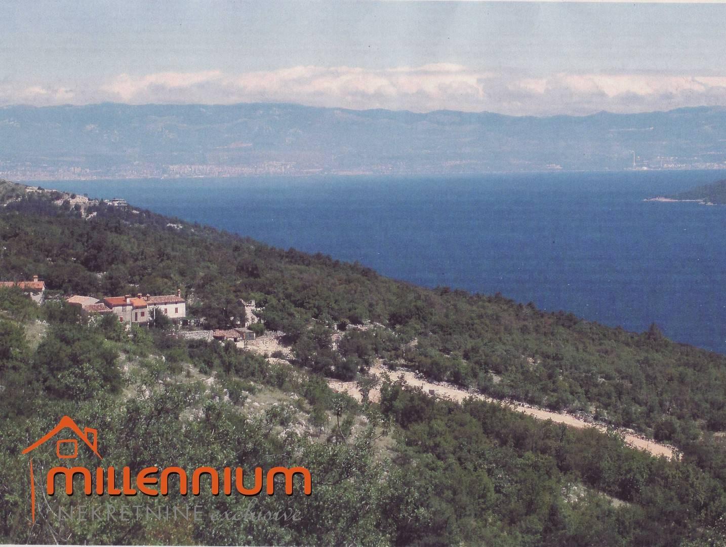 Istra, Rabac, Mali Kosi, 11.704m2, građevinsko zemljište turističko-ugostiteljske namjene