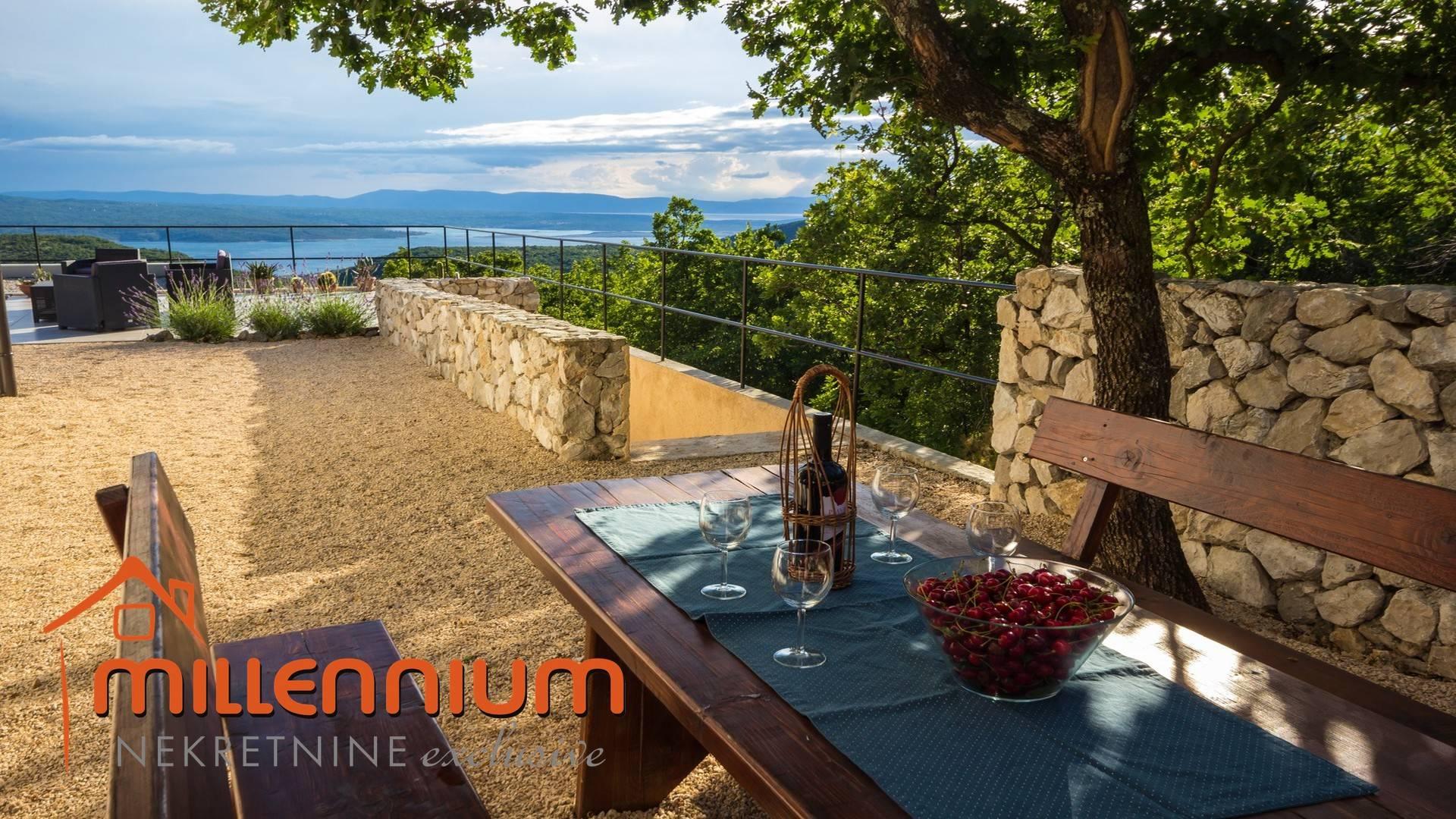Crikvenička rivijera, luksuzna vila s bazenom i prekrasnim pogledom