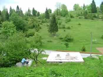 G. Kotar, Tršće, započeta gradnja u prekrasnom prirodnom okruženju