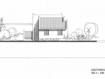 Čavle, 704m2, teren sa započetom gradnjom