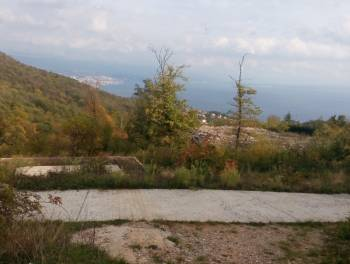 Veprinac, građevinsko zemljište od 819m2