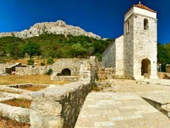 Otok Krk, Baška- Jurandvor, dvoetažni 2-sobni stan s db