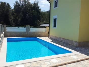 Bribir, 110m2, novogradnja, kuća s bazenom