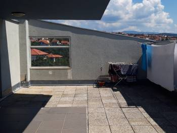 Rijeka, Zamet, 100.71m2, dvoetažni 3-sobni stan s db