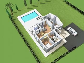Istra, Poreč, vila s bazenom, novogradnja