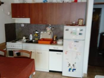 Novi Vinodolski, 31m2, namješten stan s lođom i pogledom