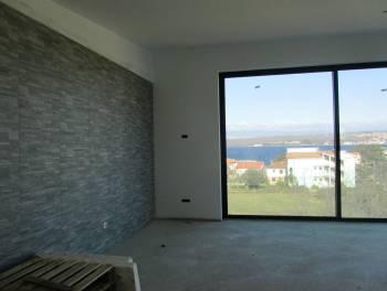 Otok Krk, Porat, 87m2, moderan apartman